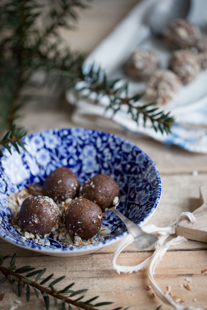 Dagmar's Kitchen :: Gingerbread spiced almond & apricot energy balls