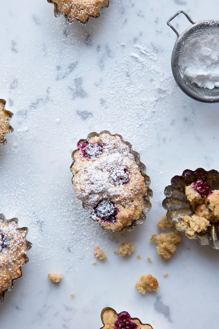 Blackberry financiers :: Sonja Dahlgren/Dagmar's Kitchen