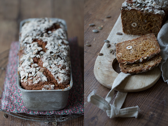 Rye soda bread :: Sonja Dahlgren/Dagmar's Kitchen
