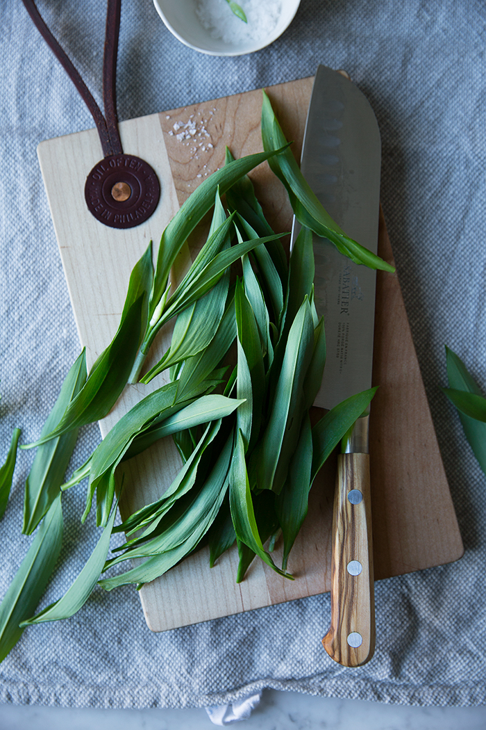 Sonja Dahlgren/Dagmar's Kitchen :: White bean dip with ramps and chili