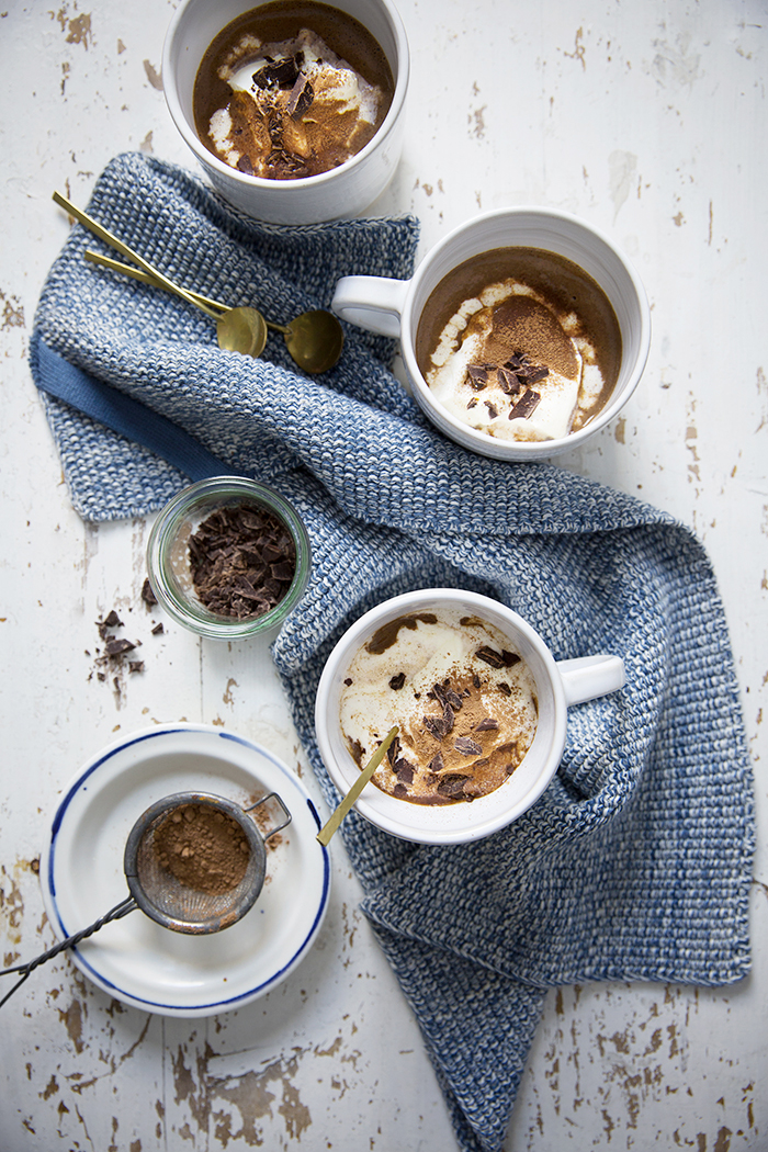 Hot Protein Chocolate :: Sonja Dahlgren/Dagmar's Kitchen
