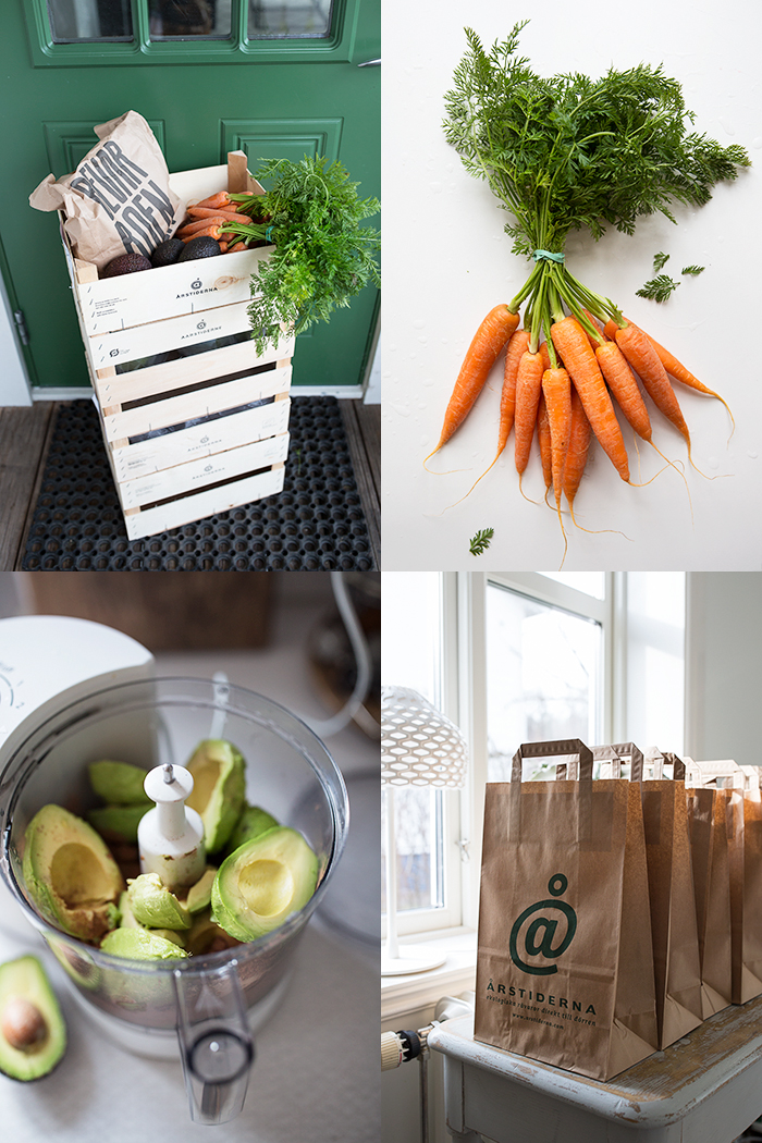 Fresh organic produce from Årstiderna :: Sonja Dahlgren/Dagmar's Kitchen